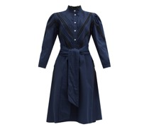 Yegua Cotton-blend Crepe Shirt Dress