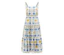 Daniela Floral-print Cotton-poplin Dress