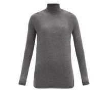River Cashmere-blend Roll-neck Sweater