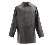 Original Oil Cotton-blend Coat