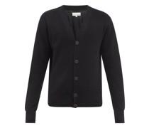 V-neck Merino-wool Cardigan