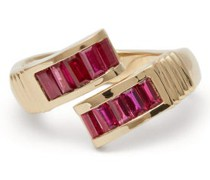 Wrap Ruby & 14kt Gold Ring