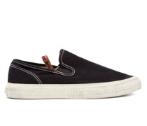 Ballow Slip-on Cotton-canvas Trainers