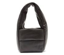 Monk Small Padded Leather Handbag