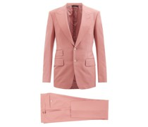 Shelton Single-breasted Canvas Suit