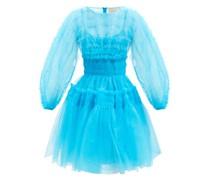 Alex Smocked Tulle Dress