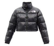 Nuptse Cropped Quilted Down Jacket