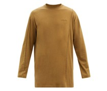 Logo-embroidered Jersey Long-sleeved T-shirt
