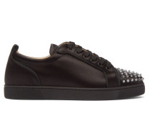 Louis Junior Studded Satin Trainers