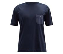 Cotton-blend Jersey T-shirt