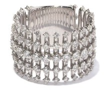 Disco Diamond & 18kt White-gold Ring