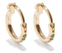 Mini Stripes Diamond & 18kt Gold Earrings