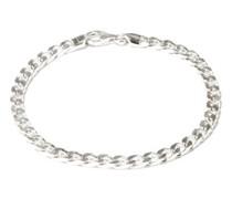 4mm Rhodium-plated Sterling-silver Bracelet