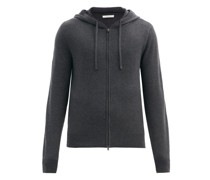 Harry Hooded Cashmere-jersey Track Jacket