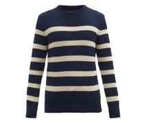 Blenheim Striped Organic-cotton Sweater