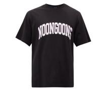 Var City Printed Cotton-jersey T-shirt