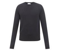 Slim-fit Lambswool Crew-neck Sweater
