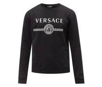 Medusa-print Cotton-jersey Sweatshirt