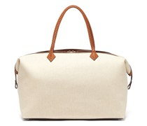Perriand Large Linen-canvas Weekend Bag