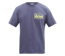 Noodle-print Cotton-jersey T-shirt