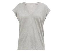 Le Mid V-neck Cotton T-shirt