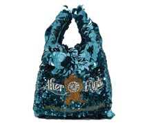 After Eights Sequinned Recycled-satin Tote Bag