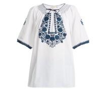 Eva Embroidered Cotton Top