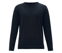 Crew-neck Cotton-jersey Sweater