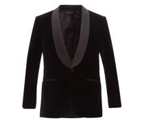 Bp Signature Cotton-velvet Tuxedo Jacket