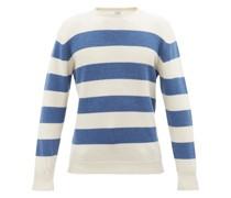 Breton-striped Wool-knit Sweater