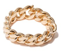 Curb-chain Gold-plated Bracelet