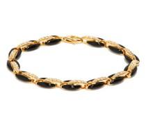 Ada Diamond, Enamel & 18kt Gold Bracelet