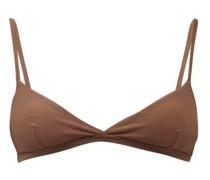 The Tri Crop Triangle Bikini Top