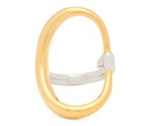 Turtle 18kt Gold-vermeil & Sterling-silver Ring