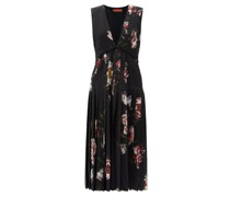 Bonnie Floral-print Crepe Midi Dress