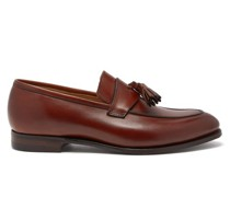 Sophie Tasselled Leather Loafers