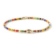 Sapphire, Gemstone & 14kt Gold Bracelet