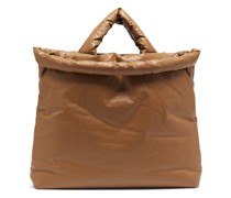 Oil Large Padded Canvas Tote Bag
