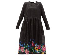 Disco Roses Floral Sequinned Dress