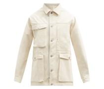 Cotton-gabardine Field Jacket
