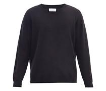 Loose-fit V-neck Cashmere Sweater