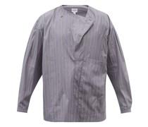 Lineman Striped Cotton-poplin Shirt