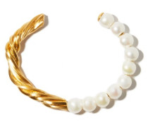 The State We're In Pearl & 14kt Gold-vermeil Cuff