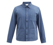 Assembly Washed Cotton-twill Jacket