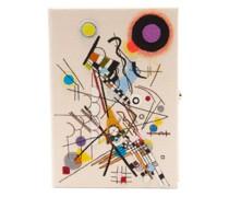Kandinsky Composition Viii Appliqué Canvas Clutch