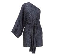 One-shoulder Sequinned Mini Dress