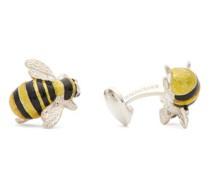 Bee Sterling-silver Cufflinks