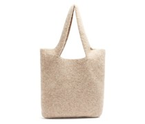 Oval Cotton-blend Tote