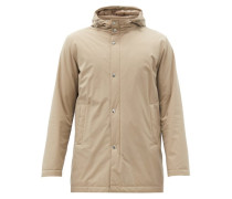 Hooded Technical Parka Jacket
