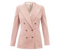 Bianca Cotton-corduroy Suit Jacket